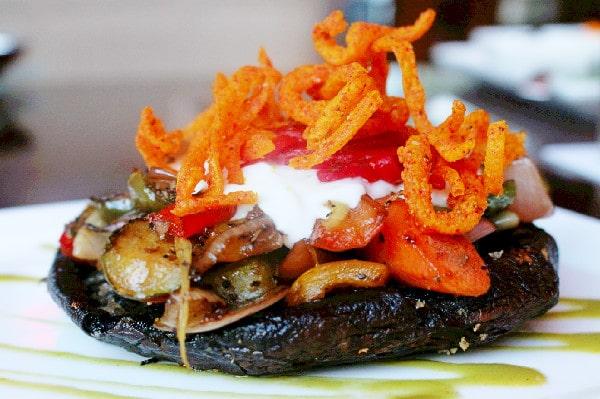 Portobello Mushroom at Urban Tide Restaurant Orlando