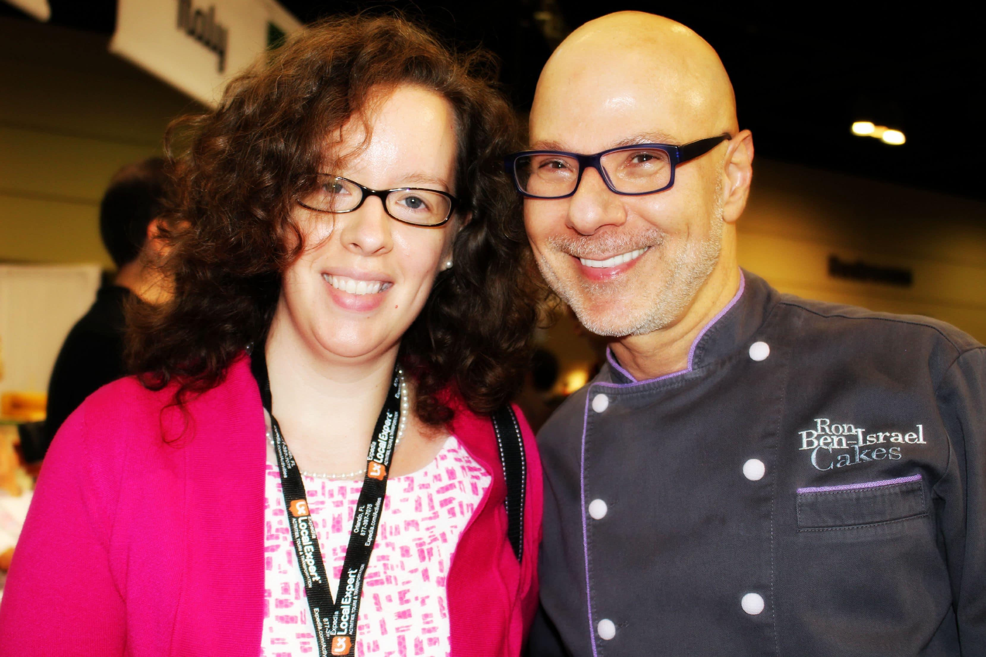 Ron Ben-Israel and Katie Moseman