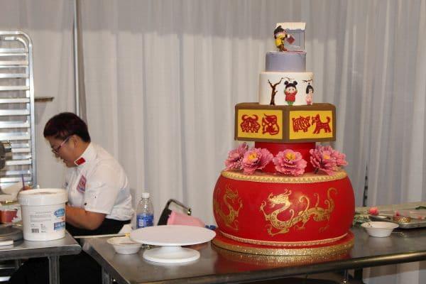 Team China Cake
