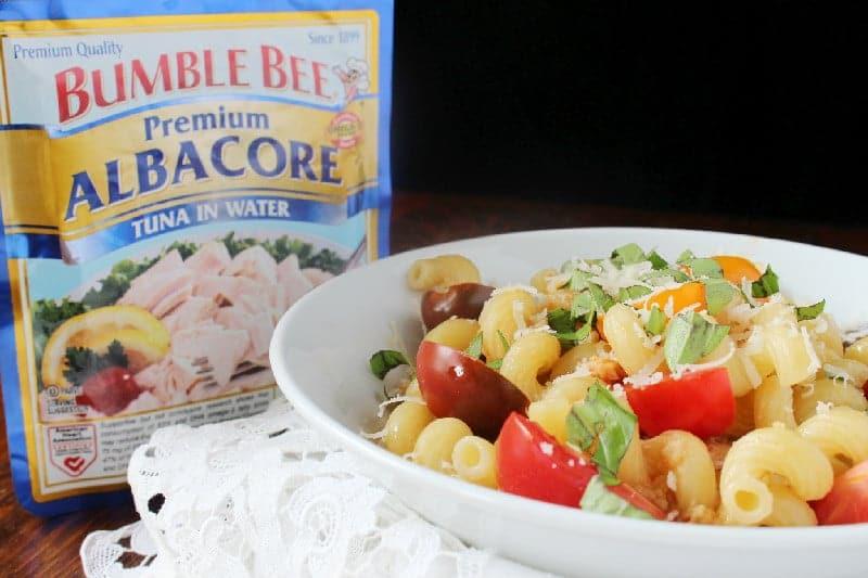 Tuna Pasta with Bumblebee Albacore