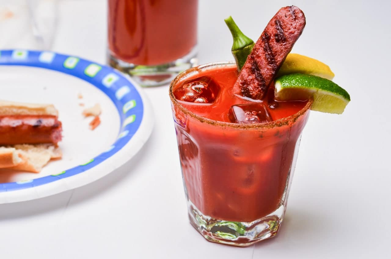 the best bloody mary recipes with sausage. Black Bedroom Furniture Sets. Home Design Ideas