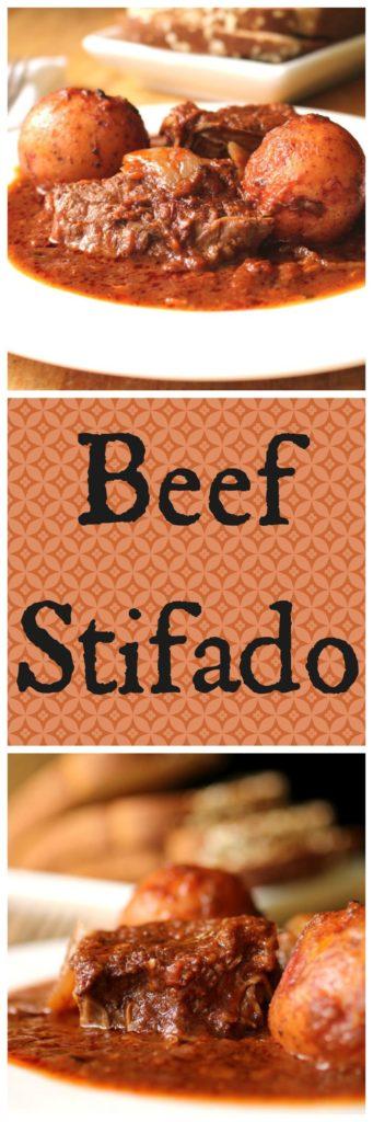 Beef Stifado Pin