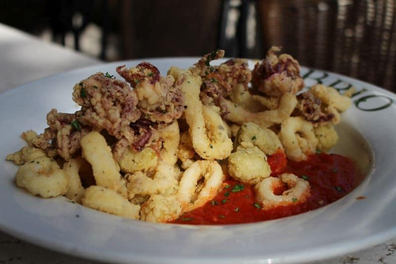 Brio Tuscan Grill Winter Park Italian Restaurant Calamari