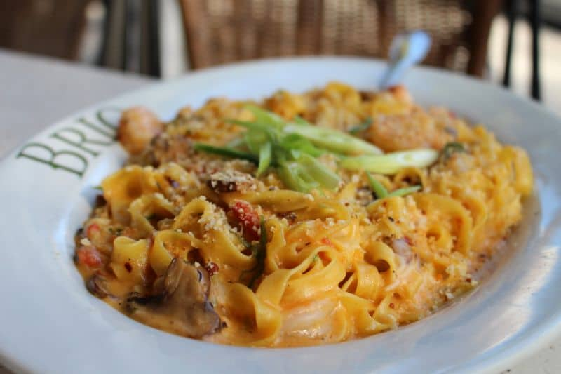 Brio Tuscan Grill Winter Park Italian Restaurant Lobster and Shrimp Fettucine