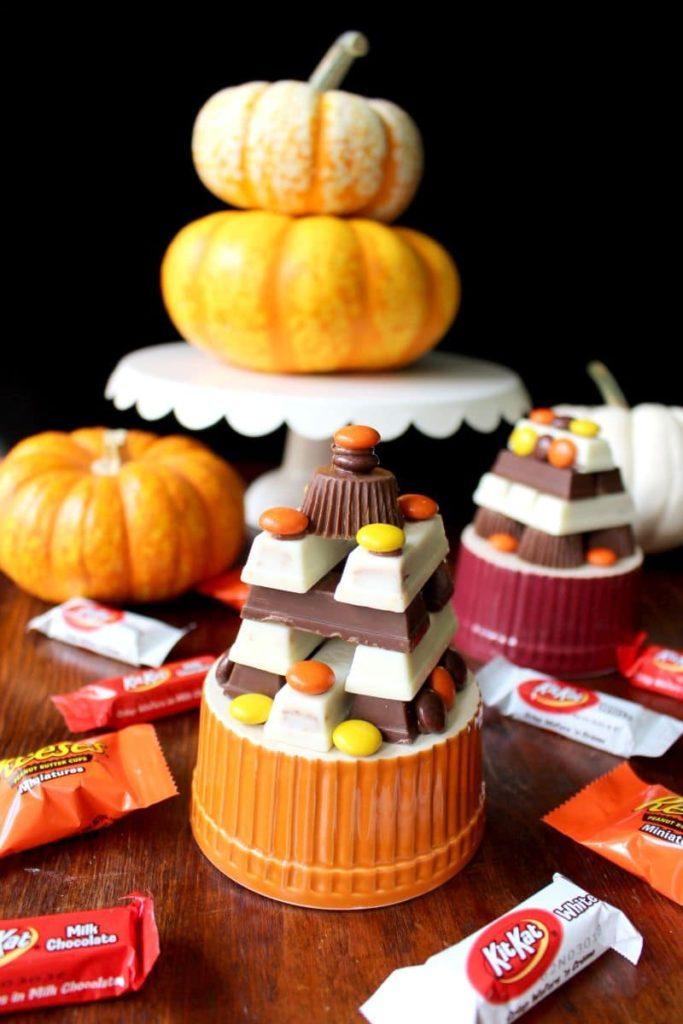 Halloween Candy Ideas Castles