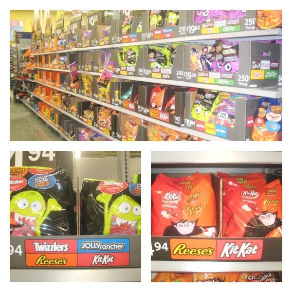 Halloween Candy Ideas at Walmart