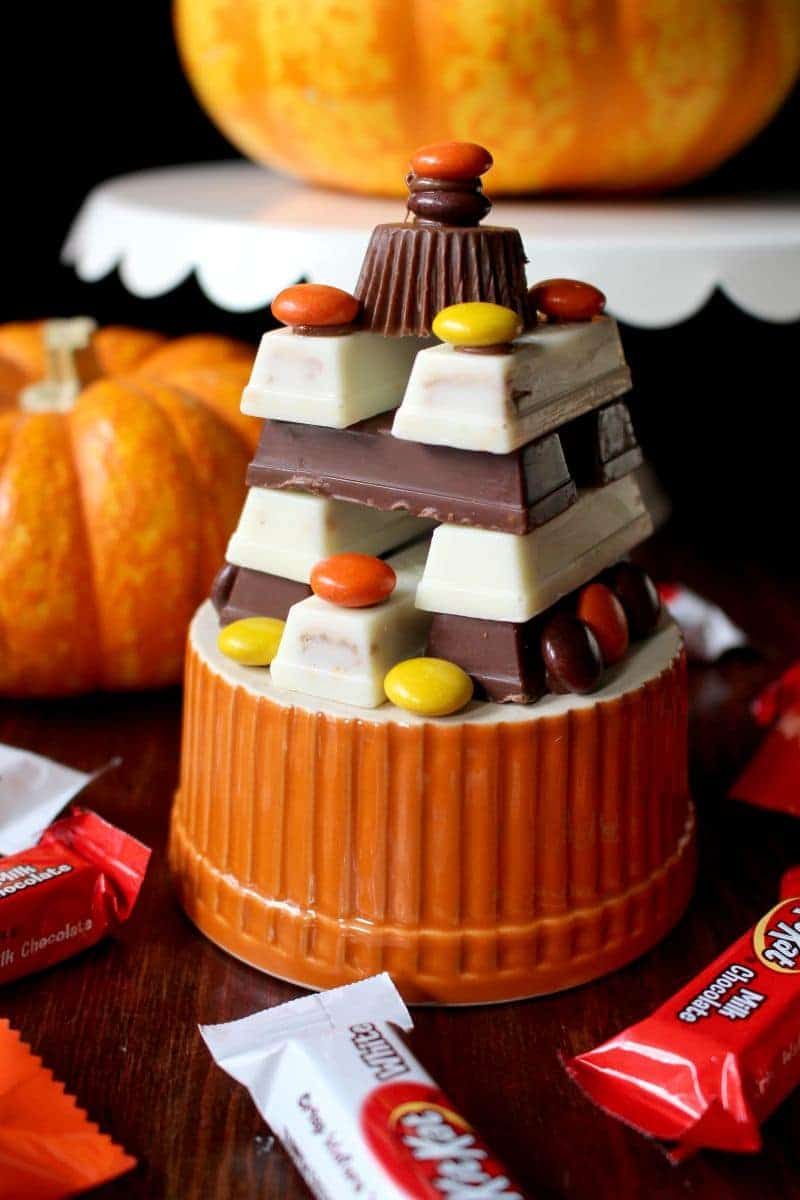 Halloween Candy Ideas: Make Your Own Candy Castle!