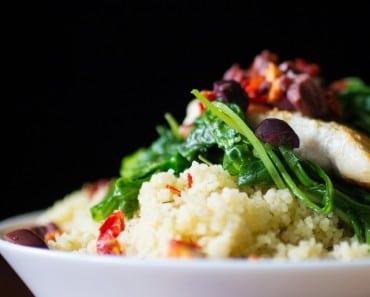 Mediterranean Couscous with Chicken