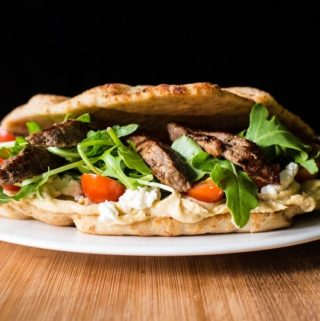 Naanwich Steak Wrap Recipe