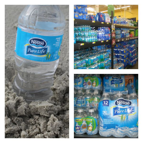 Nestle Pure Life Water at Walmart