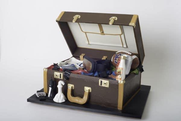 Ron Ben-Israel Suitcase Cake