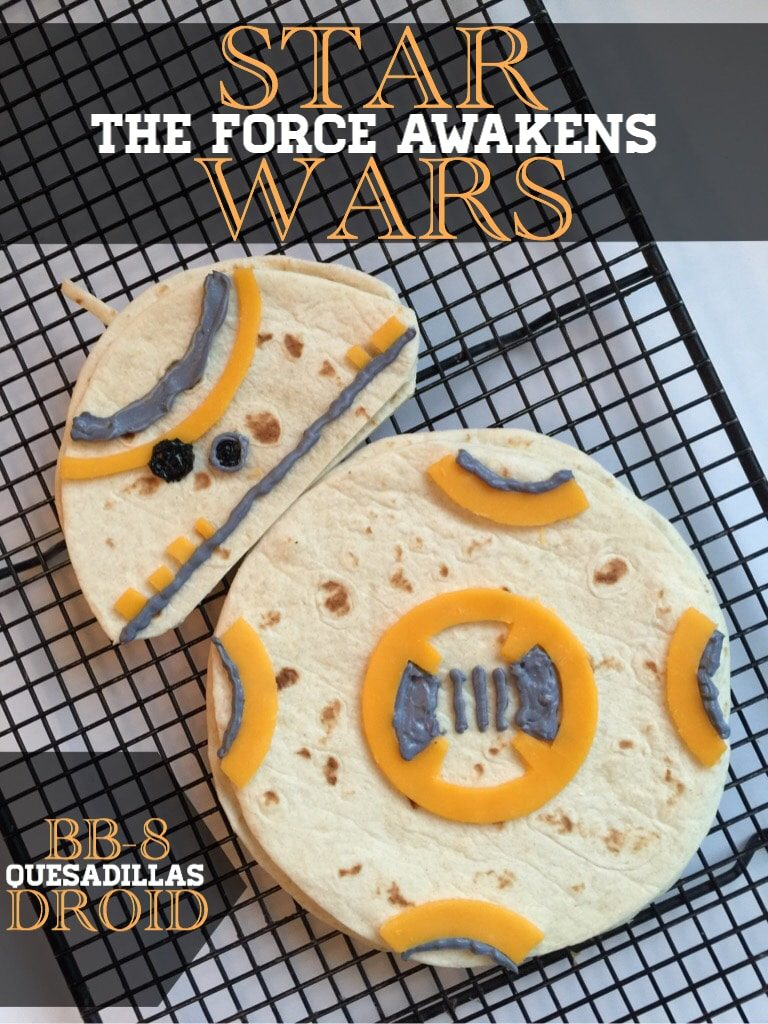 BB 8 Quesadillas