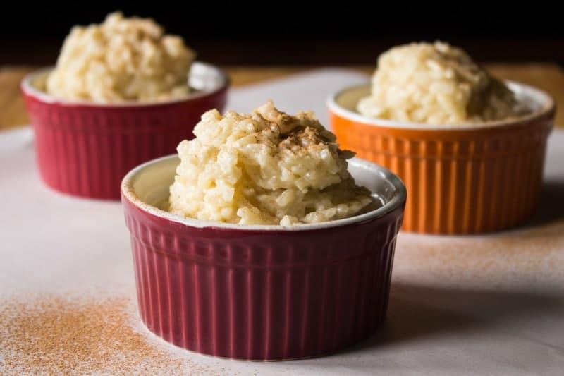 Eggnog Rice Pudding with Cinnamon