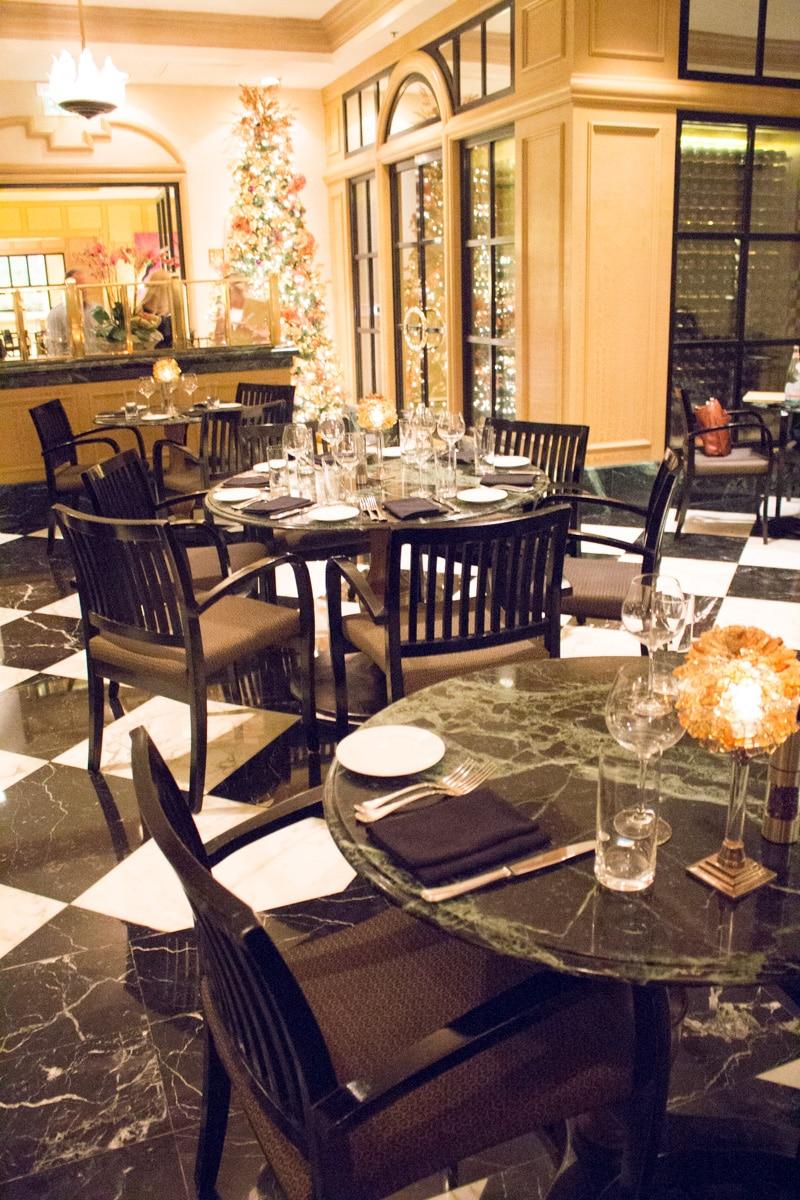 Fiorenzo dining room