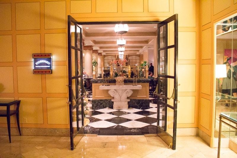 Fiorenzo restaurant at Hyatt Orlando