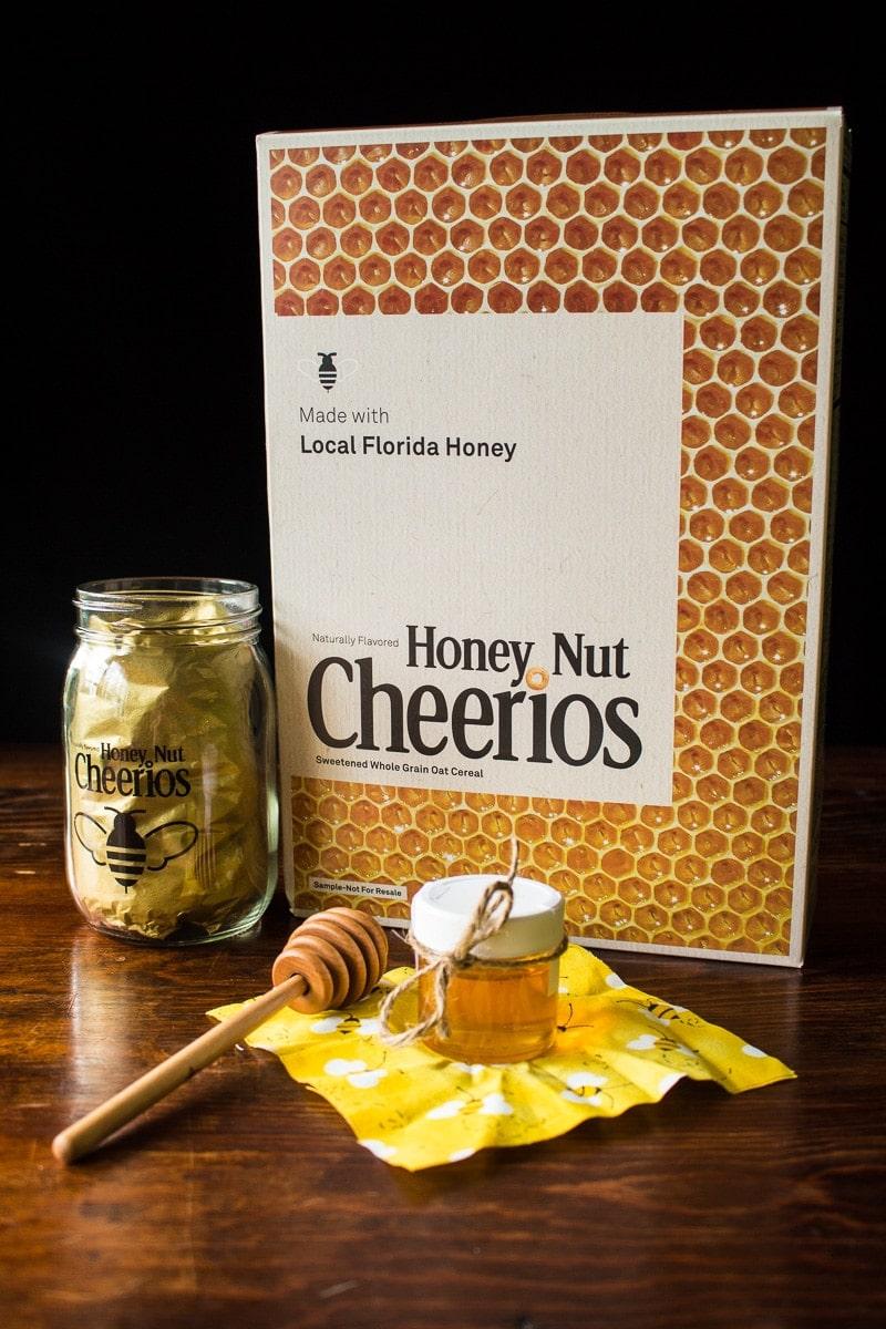 Honey Nut Cheerios made with Local Honey