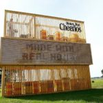 You Won't Believe This Living Billboard Made of Beehives