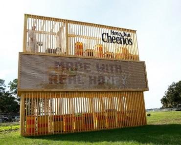 Honey billboard