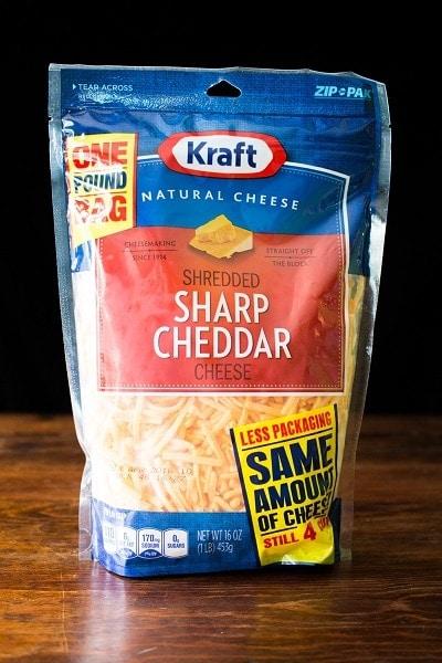 Kraft Natural Shredded Cheddar Cheese