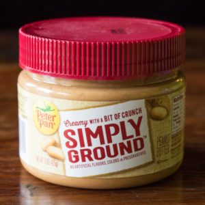 Peter Pan Simply Ground Original Peanut Butter