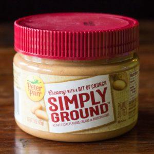 Peter Pan Simply Ground Original Peanut Butter