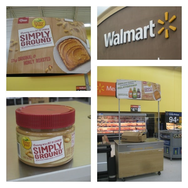 Peter Pan Simply Ground Peanut Butter at Walmart