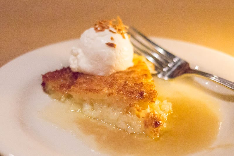 Bonefish Grill Coconut Pie