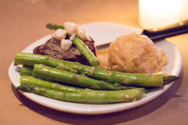 Bonefish Grill Steak Oscar