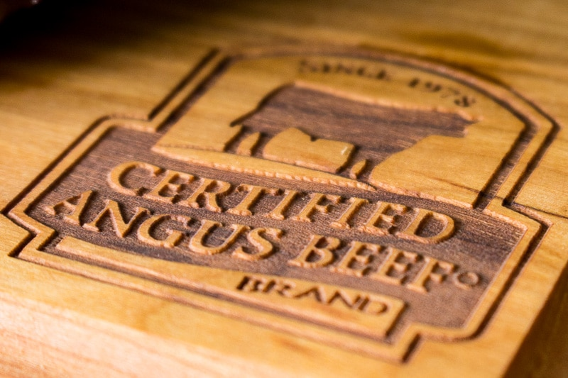 Certified Angus Beef Cutting Board