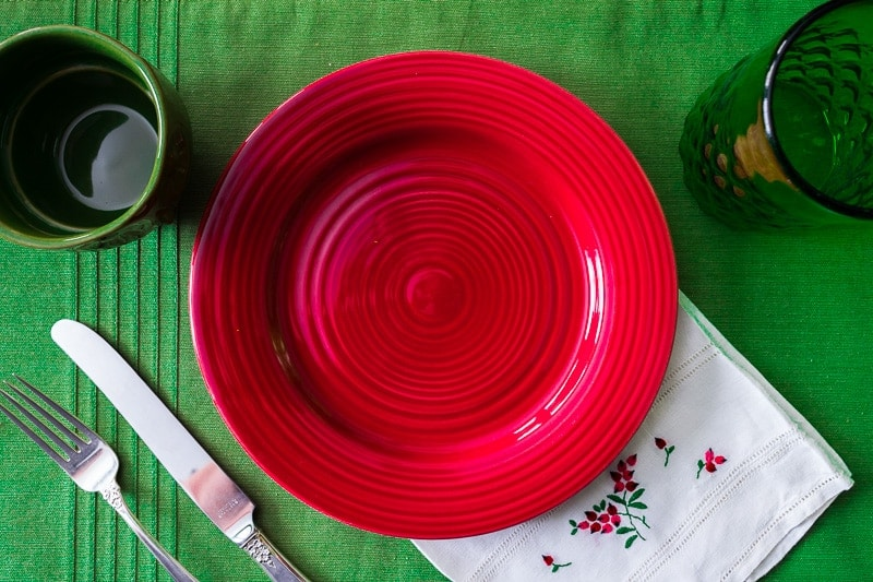 Christmas Party Ideas with Dishes