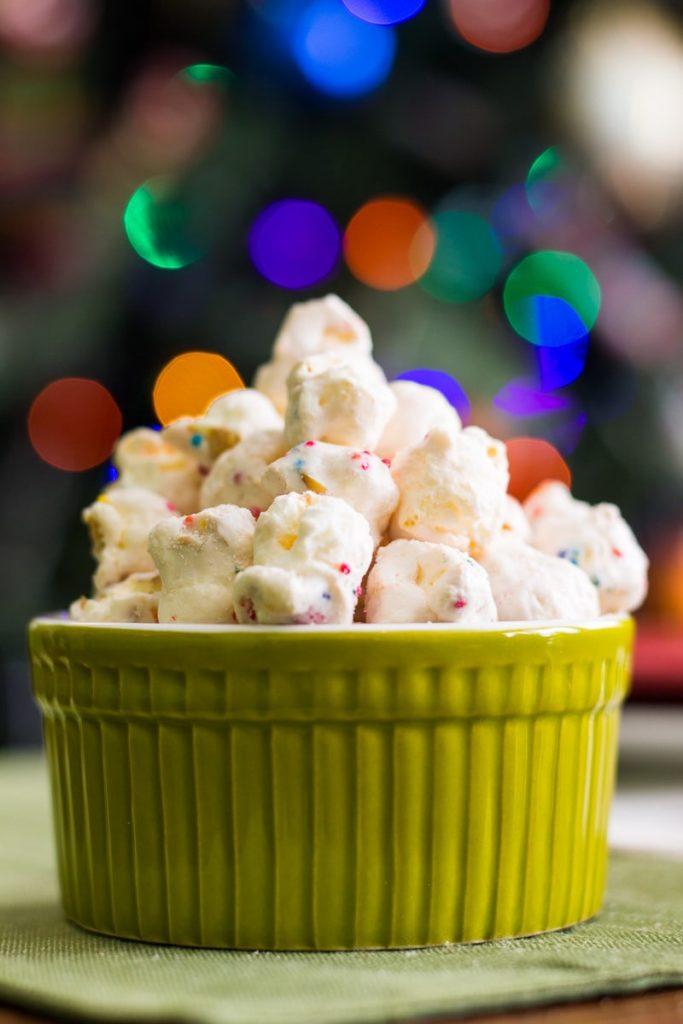 Christmas snack table