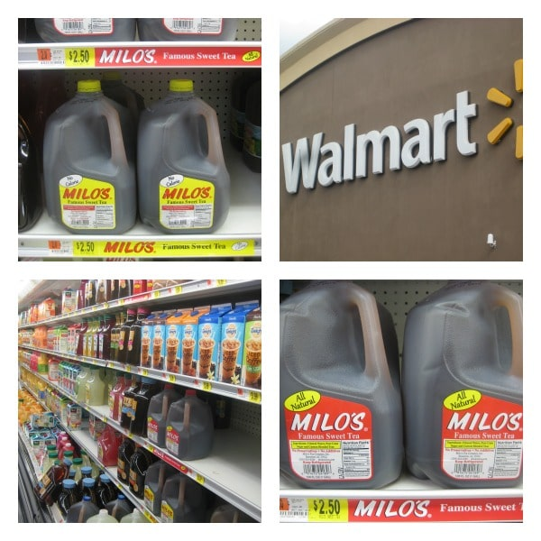 Milo's Tea at Walmart