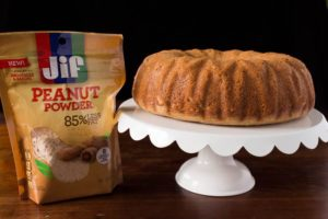 Breakfast Bundt Cake with Jif Peanut Powder