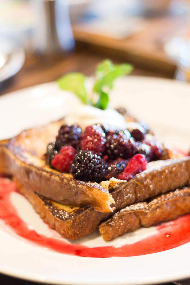 Four Seasons Orlando Plancha Brunch Berry French Toast