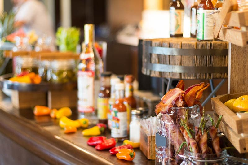 Four Seasons Orlando Plancha Brunch Bloody Mary Bar