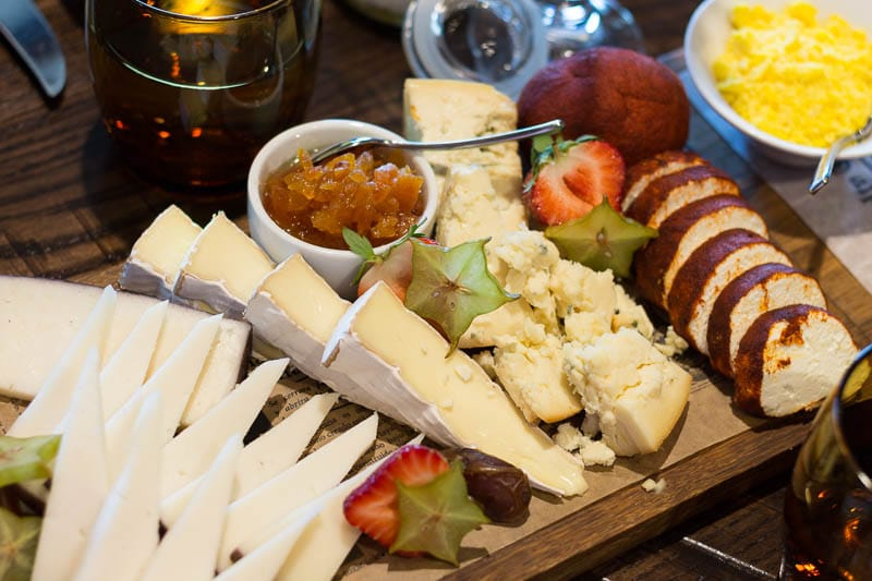 Four Seasons Orlando Plancha Brunch Cheese Board
