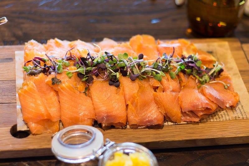 Four Seasons Orlando Plancha Brunch Smoked Salmon