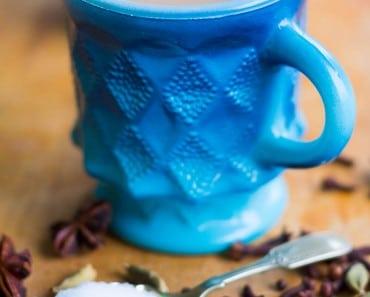 Masala Chai Recipe with Cardamom, cloves, black pepper, and cinnamon