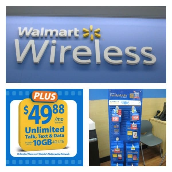 Walmart Family Mobile Plus Plan with Free Movie and More Data