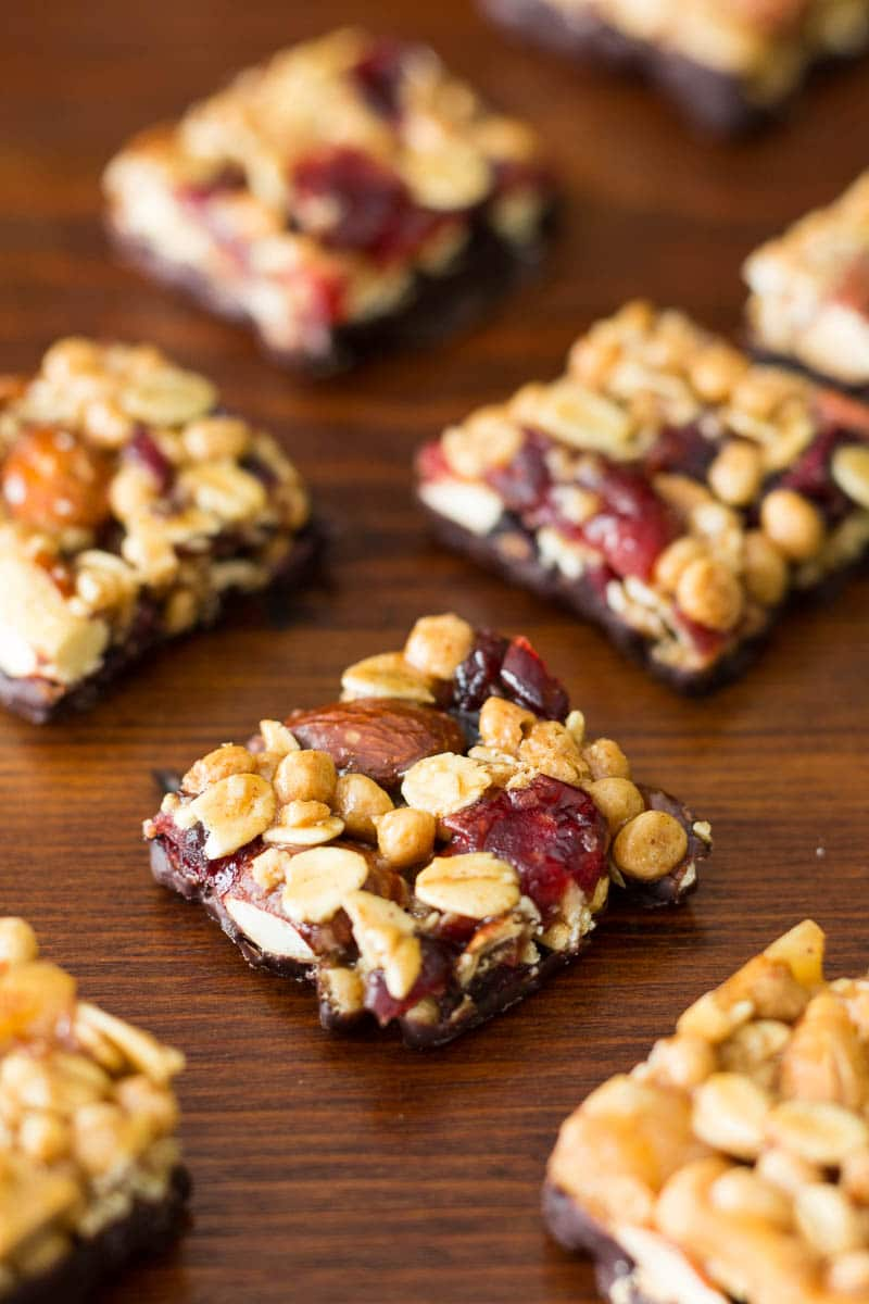 goodnessknows snack squares on a table