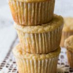 Apple Mandarin Yogurt Muffins Made with Whole Wheat