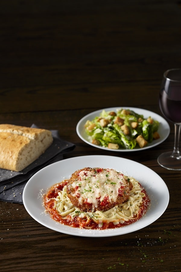 BRAVO Chicken Parmesan is part of the Classic Italian Combinations special.