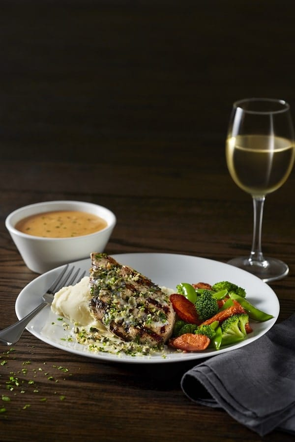 BRAVO Chicken Piccata is part of the Classic Italian Combinations special.