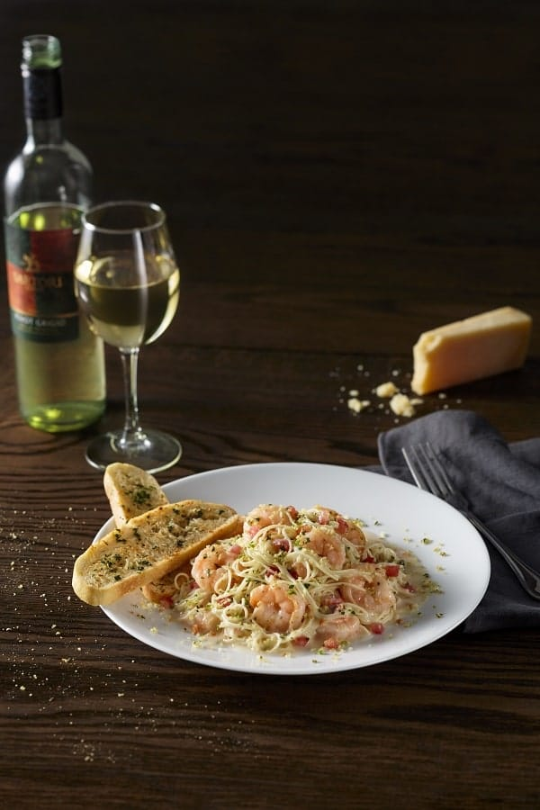BRAVO Shrimp Scampi is part of the Classic Italian Combinations special.