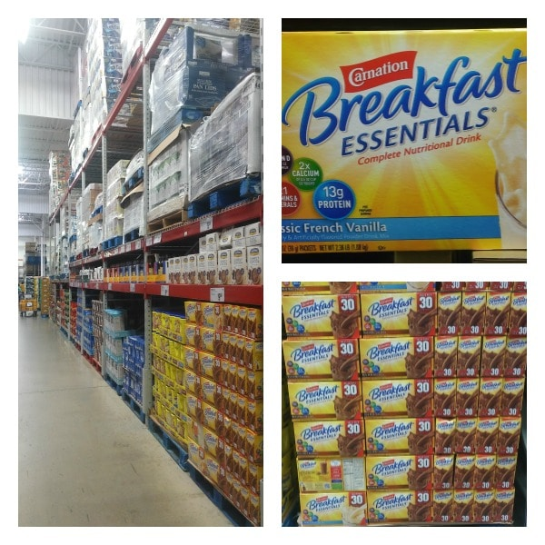 Carnation Breakfast Essentials at Sams Club