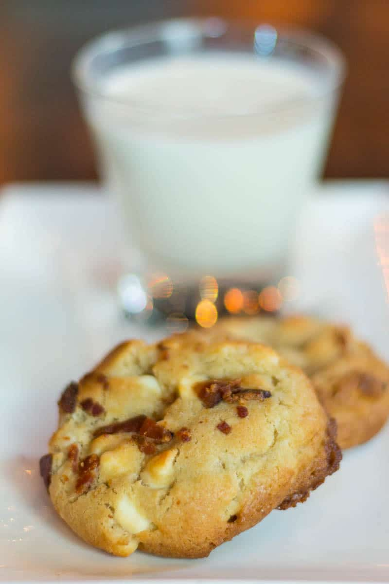 F & D Kitchen and Bar in Lake Mary serves up their signature milk and cookies dessert with a cup of bourbon milk.
