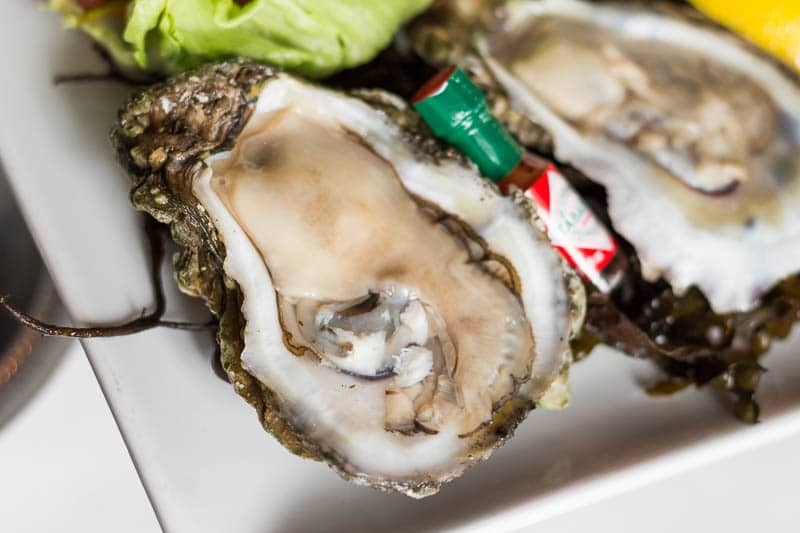 Fulton's Crab House raw oysters are fresh from the Gulf of Mexico.