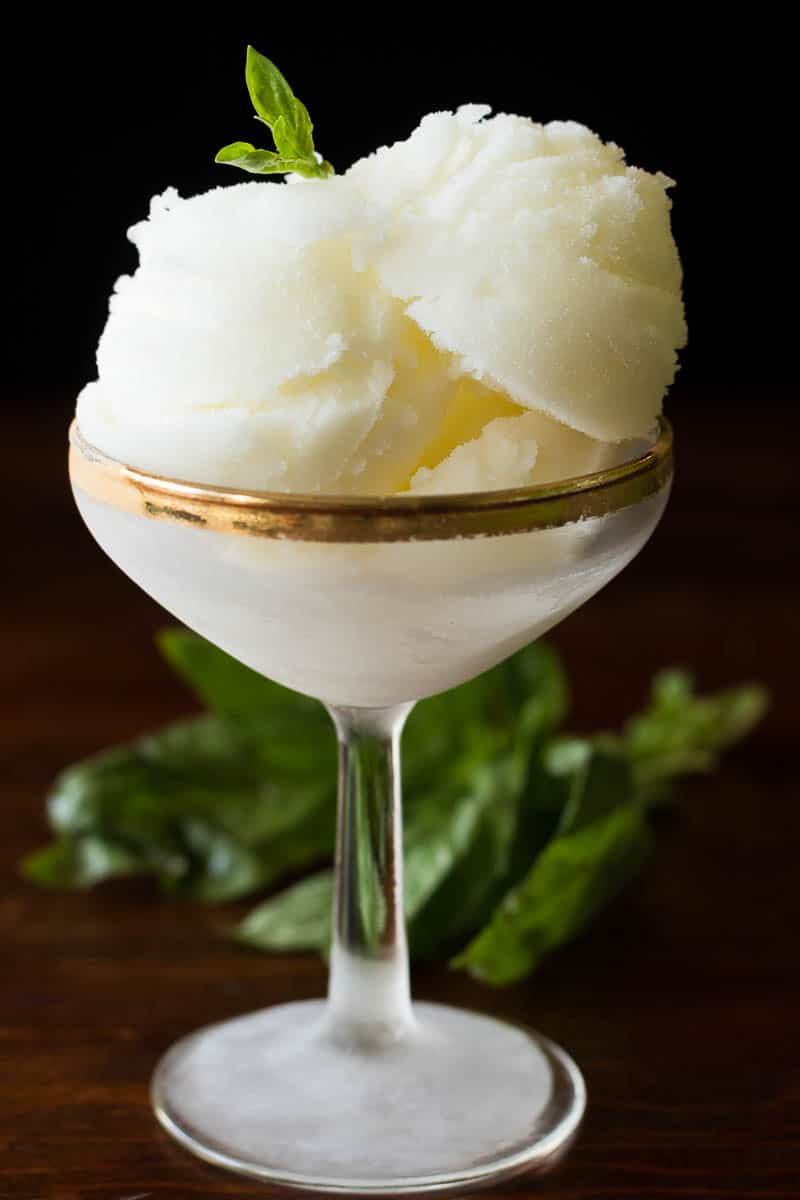 Basic Lemon Sorbet Recipe — Dishmaps