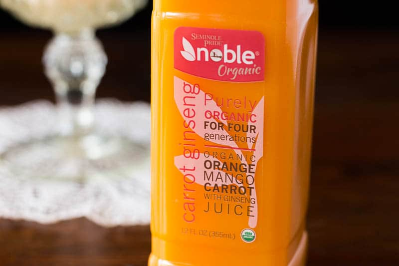 Noble Juice makes delicious, fresh, and unique blends of juice from Florida.