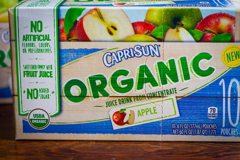 Capri Sun Organic Juice Drinks